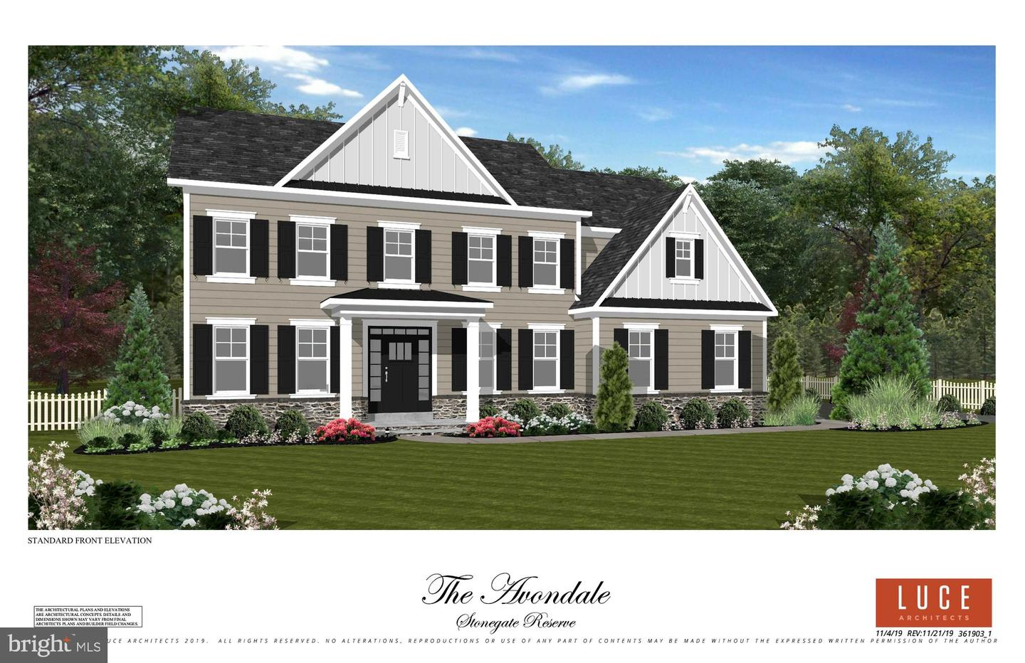 LOT 1 ROSEWOOD CIR, COLLEGEVILLE, Pennsylvania 19426, 4 Bedrooms Bedrooms, ,3 BathroomsBathrooms,Single Family,For Sale,LOT 1 ROSEWOOD CIR,PAMC646746