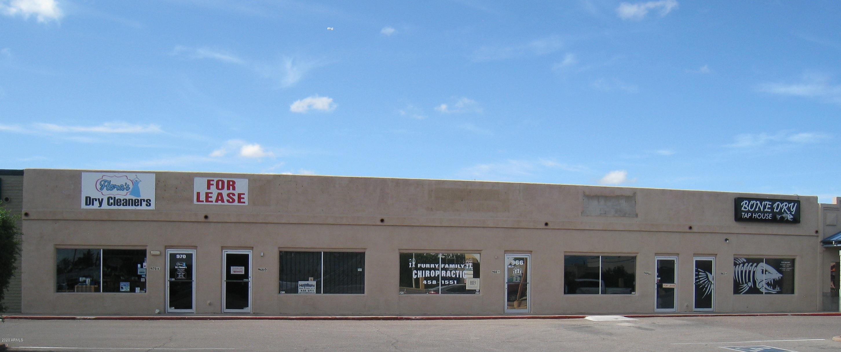 968 E FRY Boulevard, Sierra Vista, Arizona 85635, ,Commercial,For Sale,968 E FRY Boulevard,1,6098140