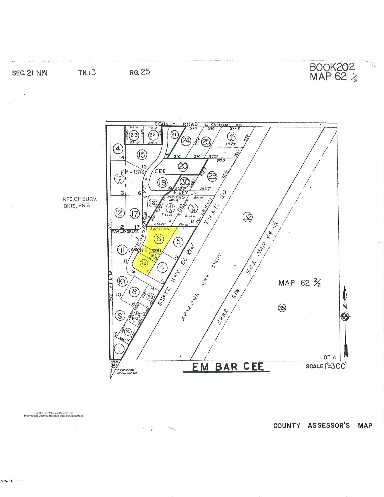 TBD N Coronado Avenue, Willcox, Arizona 85643, ,Lots And Land,For Sale,TBD N Coronado Avenue,22017026