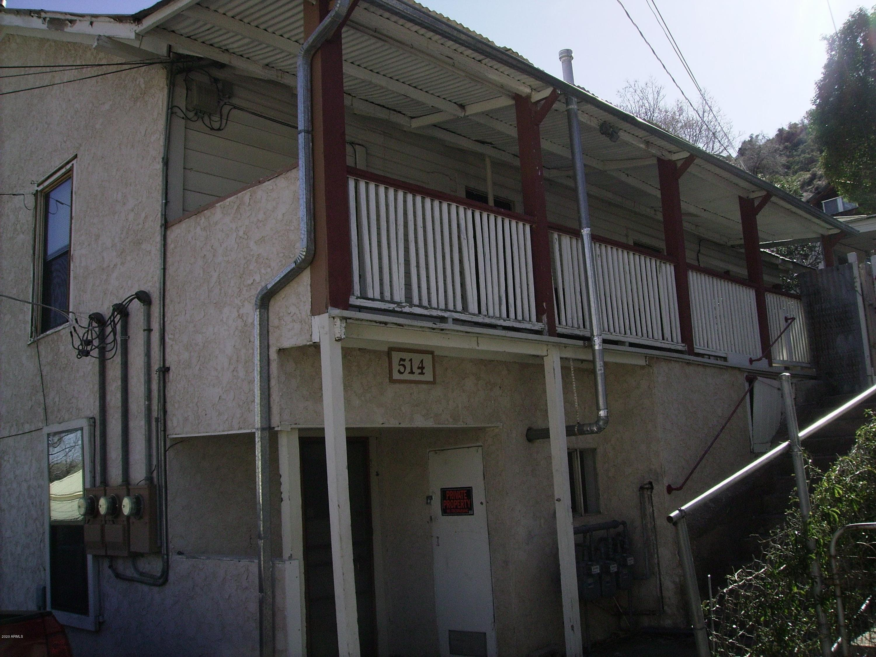514 BROPHY Avenue, Bisbee, Arizona 85603, ,Multifamily,For Sale,514 BROPHY Avenue,6136298