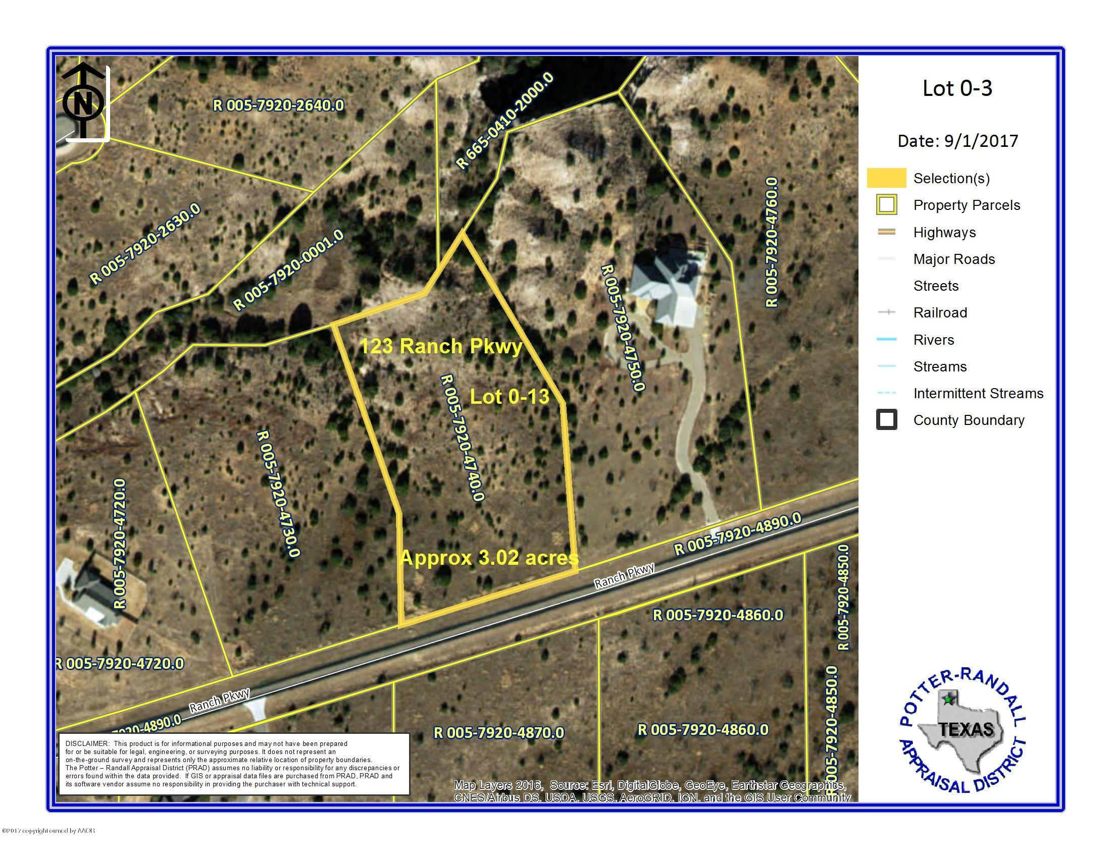 123 RANCH PKWY, Canyon, Texas 79015, ,Lots And Land,For Sale,123 RANCH PKWY,20-5903