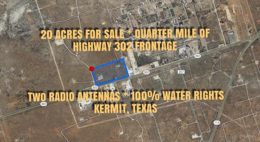 302 hwy west, Kermit, Texas 79745, ,Lots And Land,For Sale,302 hwy west,834441