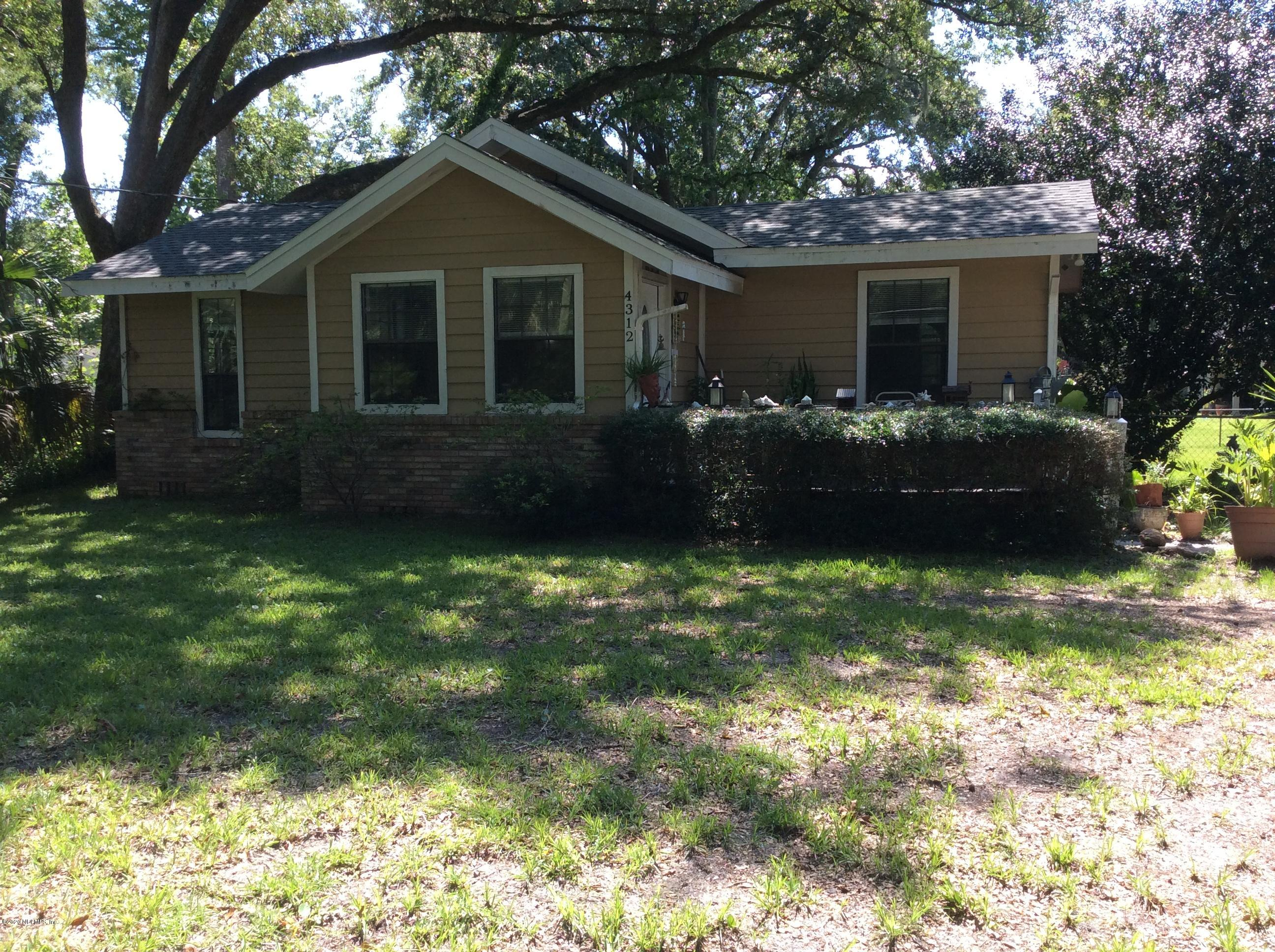 4312 HUDNALL RD, JACKSONVILLE, Florida 32207, 2 Bedrooms Bedrooms, ,1 BathroomBathrooms,Single Family,For Sale,4312 HUDNALL RD,1058772