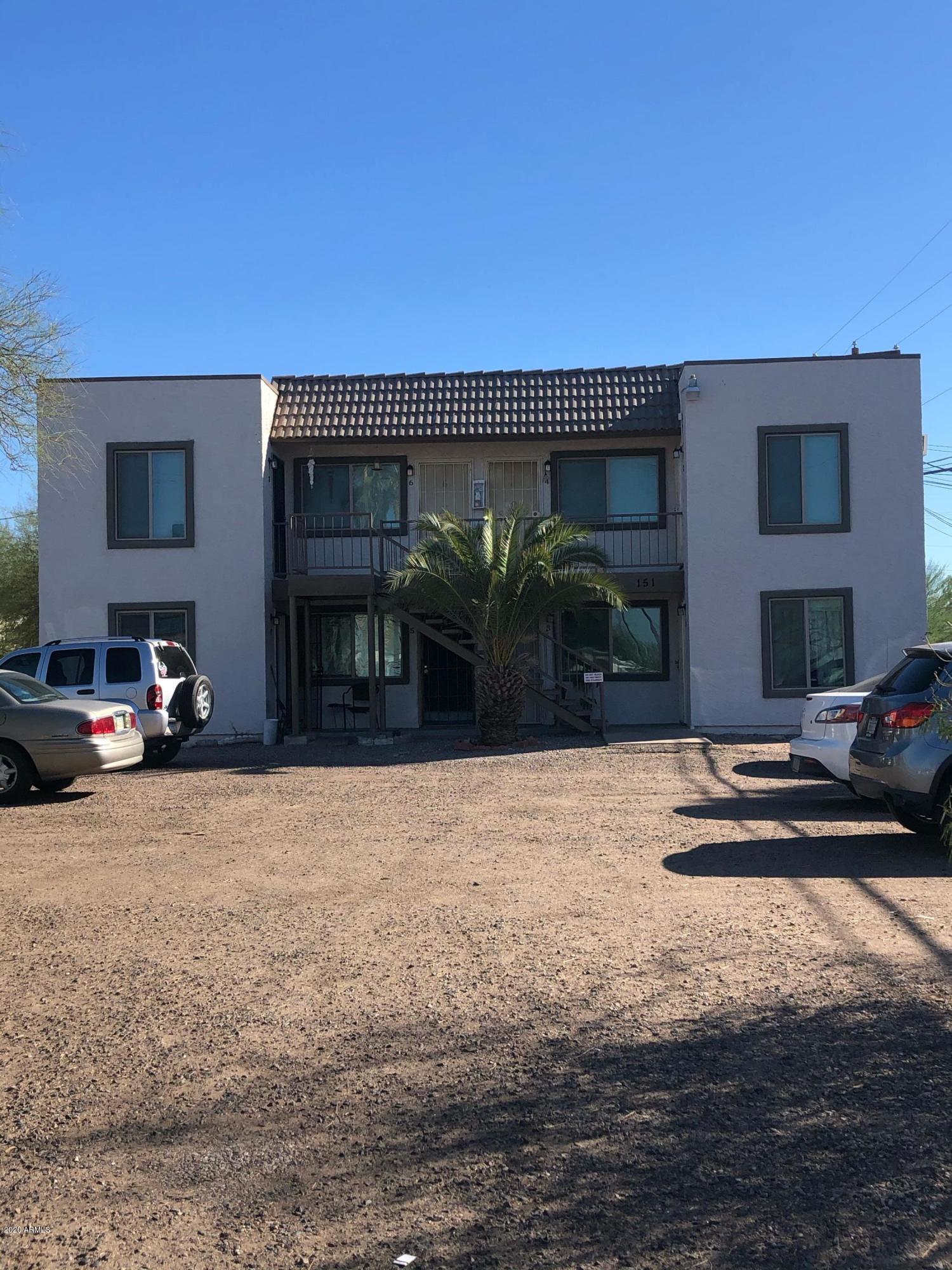 151 N PALO VERDE Drive, Apache Junction, Arizona 85120, ,Multifamily,For Sale,151 N PALO VERDE Drive,6158743