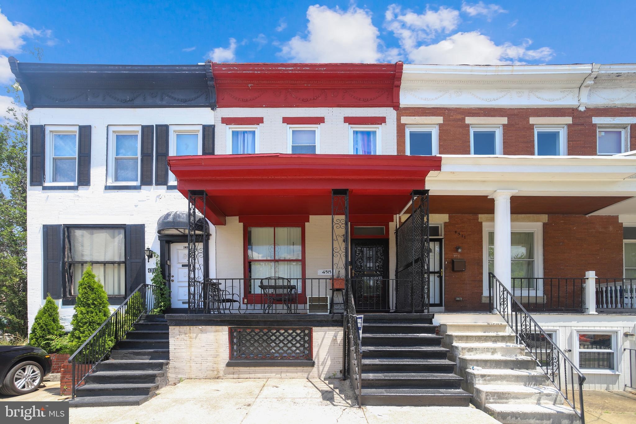 4313 YORK ROAD, BALTIMORE, Maryland 21212, 3 Bedrooms Bedrooms, ,1 BathroomBathrooms,Townhouse,For Sale,4313 YORK ROAD,MDBA531832