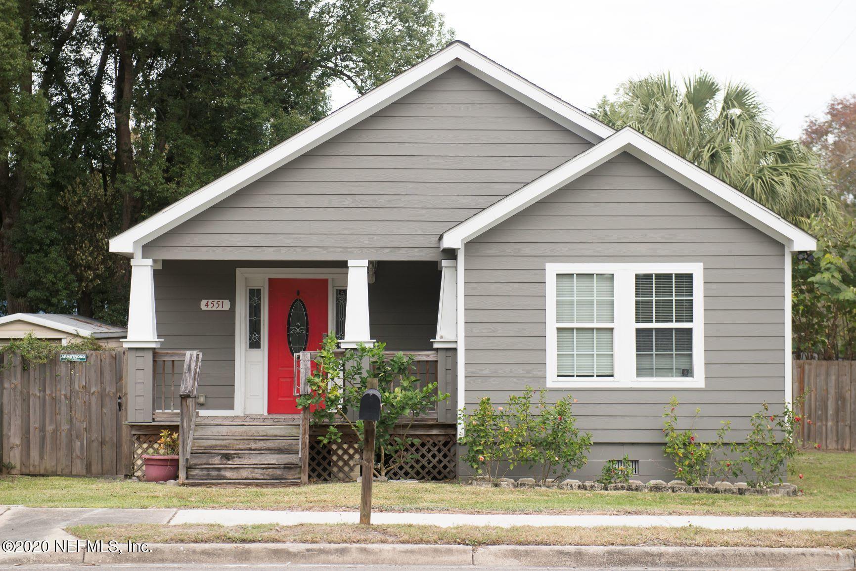 4551 PARK ST, JACKSONVILLE, Florida 32205, 3 Bedrooms Bedrooms, ,2 BathroomsBathrooms,Single Family,For Sale,4551 PARK ST,1087168