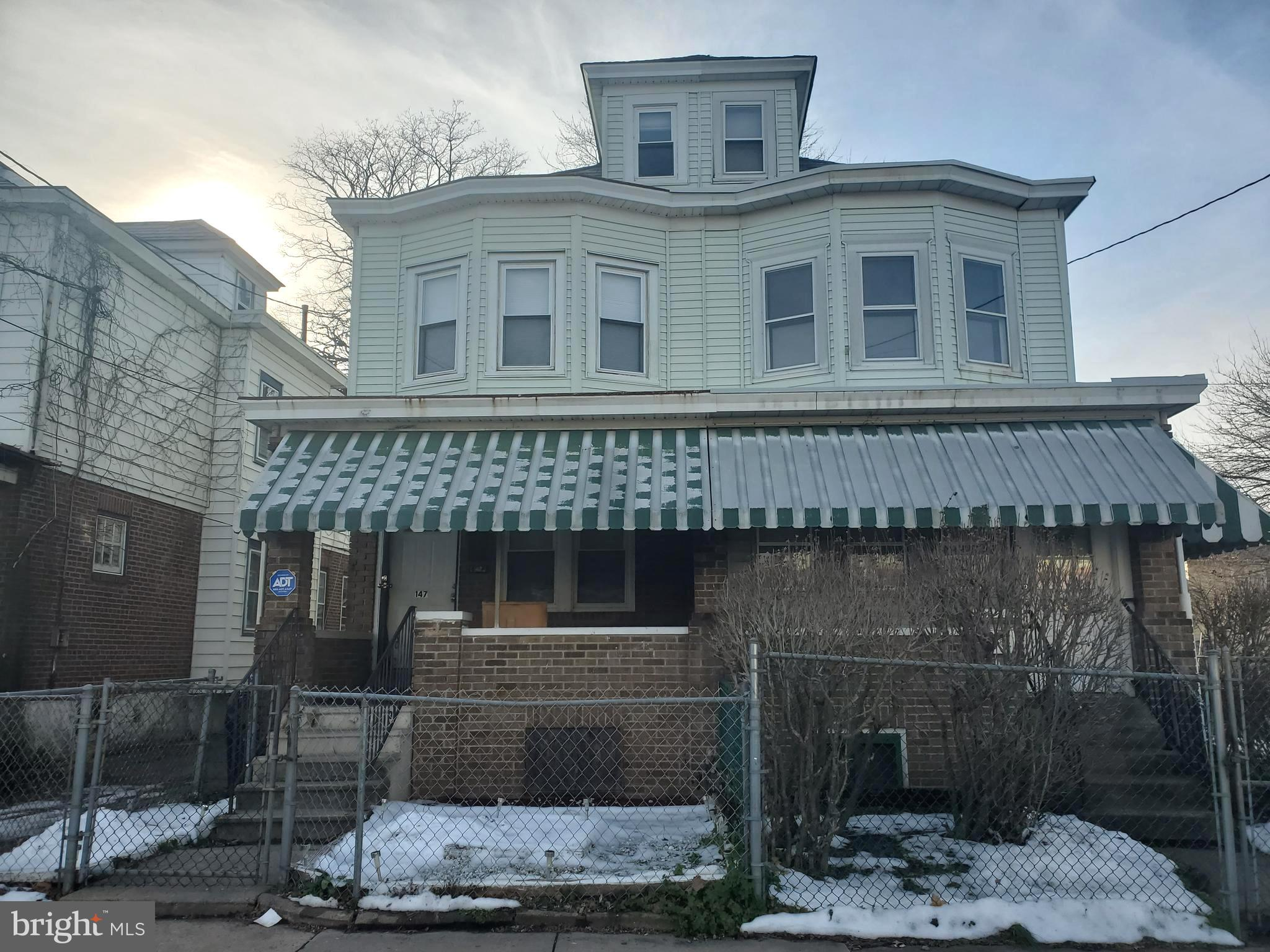147 S COOK AVENUE, Trenton, New Jersey 08609, 4 Bedrooms Bedrooms, ,1 BathroomBathrooms,Townhouse,For Sale,147 S COOK AVENUE,NJME306192