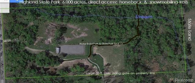 2725 S DUCK LAKE Road, Highland, Michigan 48356, ,Lots And Land,For Sale,2725 S DUCK LAKE Road,2210000749