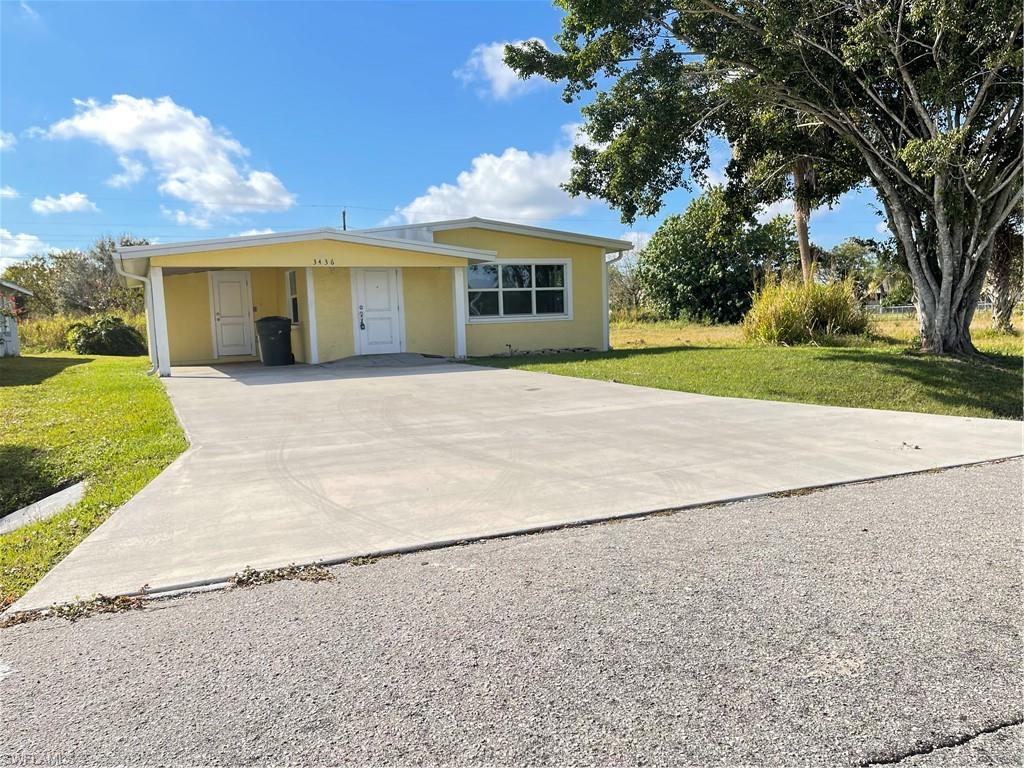 3436 Jeffcott ST, FORT MYERS, Florida 33916, 3 Bedrooms Bedrooms, ,2 BathroomsBathrooms,Single Family,For Sale,3436 Jeffcott ST,221007090