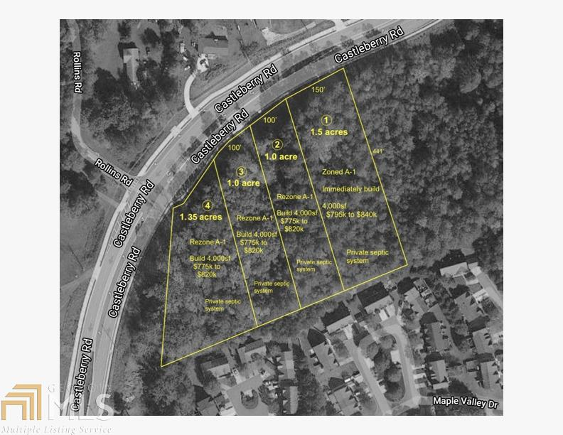 3315 Castleberry Rd, Cumming, Georgia 30040, ,Lots And Land,For Sale,3315 Castleberry Rd,8797249