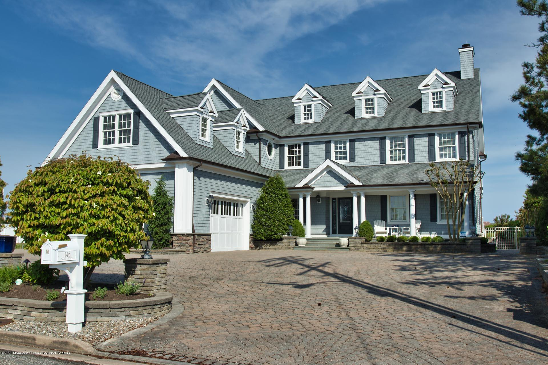 146 Squan Beach Drive, Mantoloking, New Jersey 08738, 4 Bedrooms Bedrooms, ,5 BathroomsBathrooms,Single Family,For Sale,146 Squan Beach Drive,2,22037918