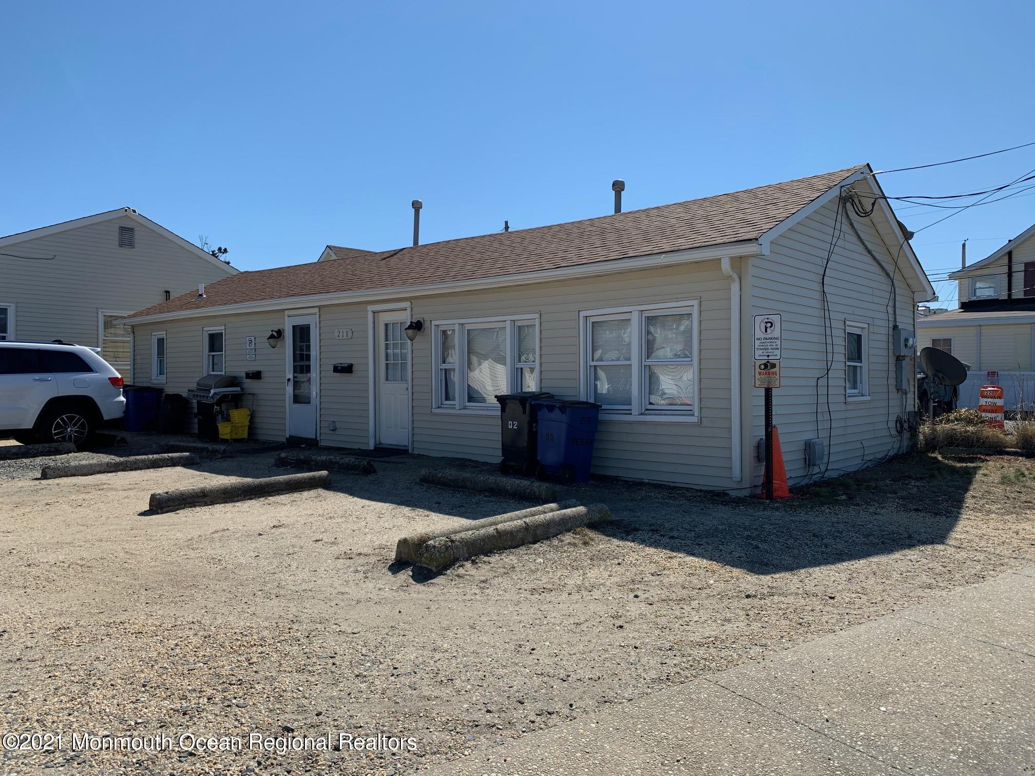 218 Ocean Avenue, Point Pleasant Beach, New Jersey 08742, 4 Bedrooms Bedrooms, ,2 BathroomsBathrooms,Multifamily,For Sale,218 Ocean Avenue,1,22107447
