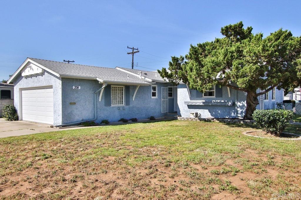374 Fordyce Street, El Cajon, California 92019, 4 Bedrooms Bedrooms, ,2 BathroomsBathrooms,Single Family,For Sale,374 Fordyce Street,PTP2102370