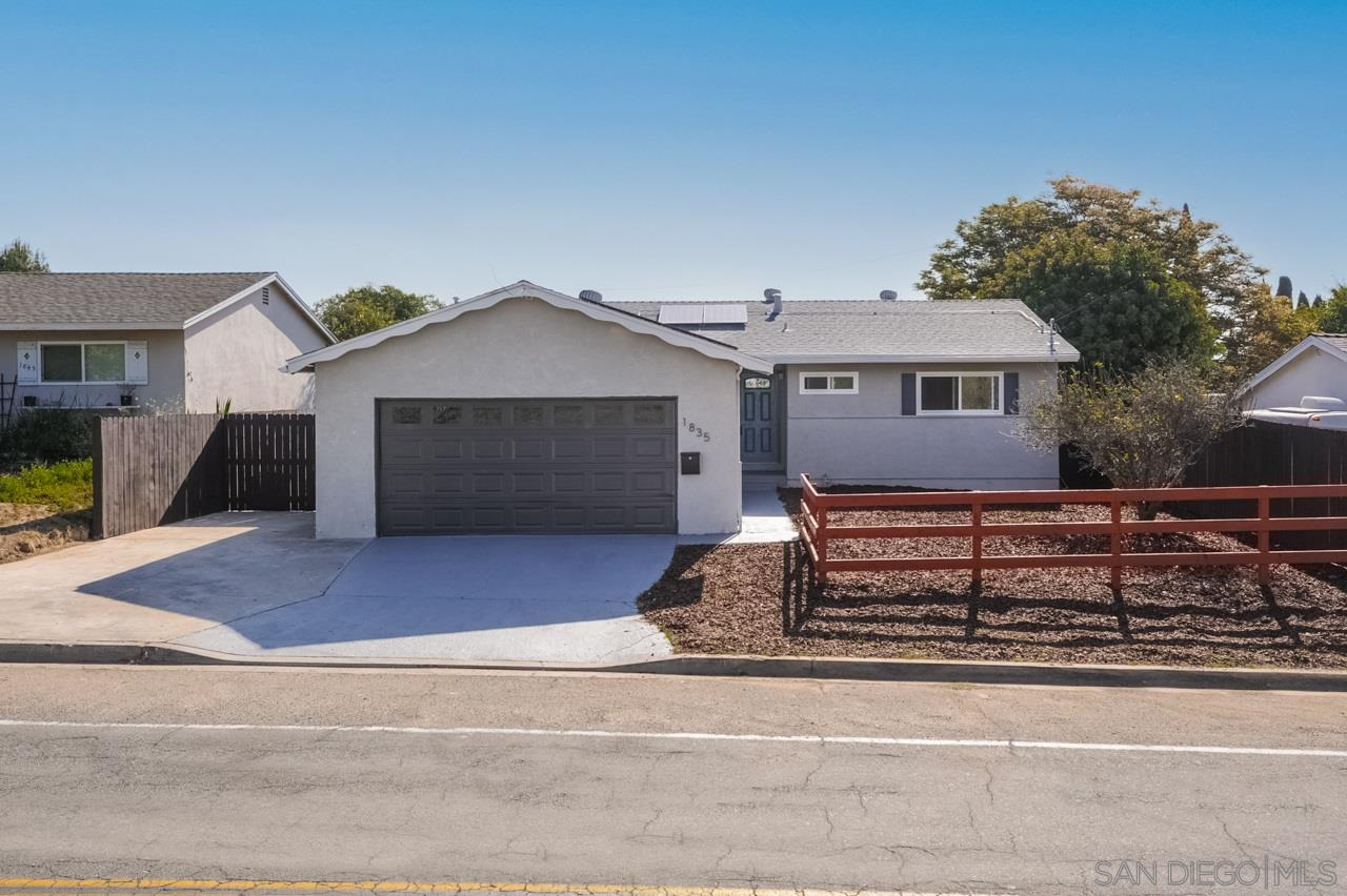 1835 69th St., Lemon Grove, California 91945, 3 Bedrooms Bedrooms, ,2 BathroomsBathrooms,Single Family,For Sale,1835 69th St.,1,210009096