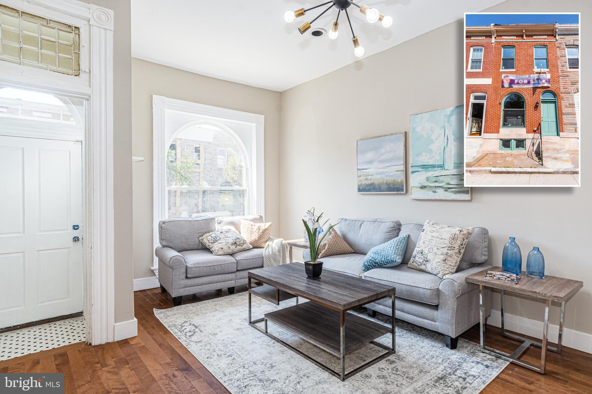 813 N PATTERSON PARK AVENUE, BALTIMORE, Maryland 21205, 3 Bedrooms Bedrooms, ,3 BathroomsBathrooms,Townhouse,For Sale,813 N PATTERSON PARK AVENUE,MDBA546548