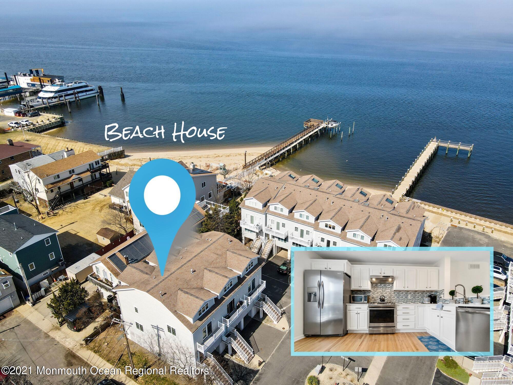 16-3 Beach Boulevard, Highlands, New Jersey 07732, 3 Bedrooms Bedrooms, ,4 BathroomsBathrooms,Townhouse,For Sale,16-3 Beach Boulevard,3,22108952