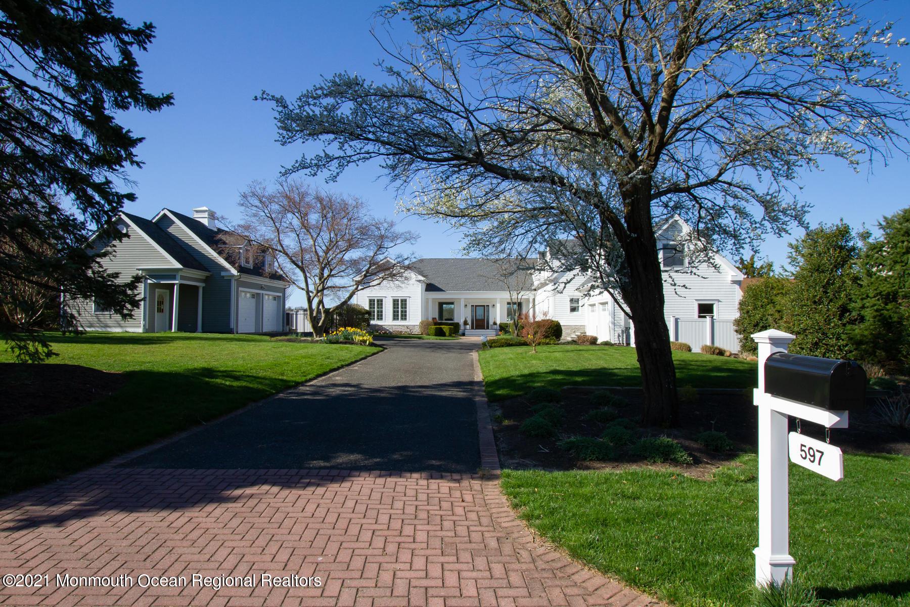 597 Little Silver Point Road, Little Silver, New Jersey 07739, 5 Bedrooms Bedrooms, ,6 BathroomsBathrooms,Single Family,For Sale,597 Little Silver Point Road,2,22111014