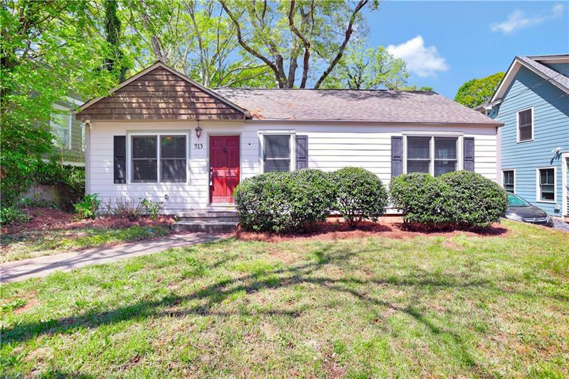 915 Stallings Avenue SE, Atlanta, Georgia 30316, 2 Bedrooms Bedrooms, ,2 BathroomsBathrooms,Single Family,For Sale,915 Stallings Avenue SE,1,6865925