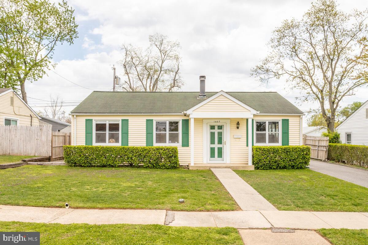 1407 HOUGHTON RD, GLEN BURNIE, Maryland 21061, 3 Bedrooms Bedrooms, ,1 BathroomBathrooms,Single Family,For Sale,1407 HOUGHTON RD,MDAA464992