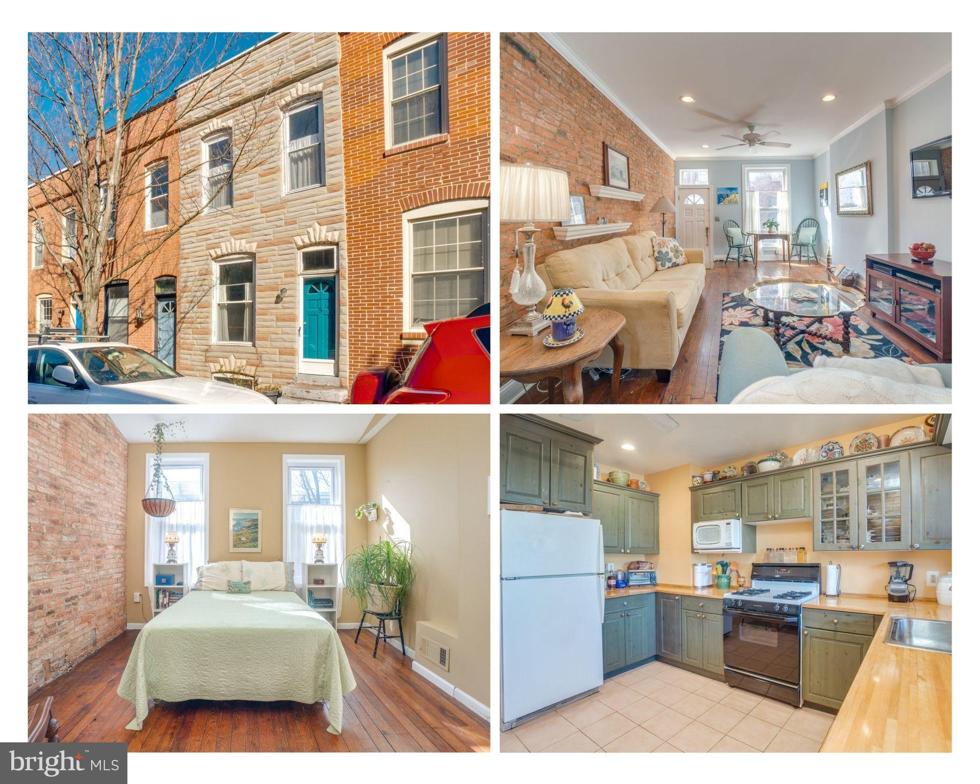 1415 BELT STREET, BALTIMORE, Maryland 21230, 2 Bedrooms Bedrooms, ,1 BathroomBathrooms,Townhouse,For Sale,1415 BELT STREET,MDBA548632