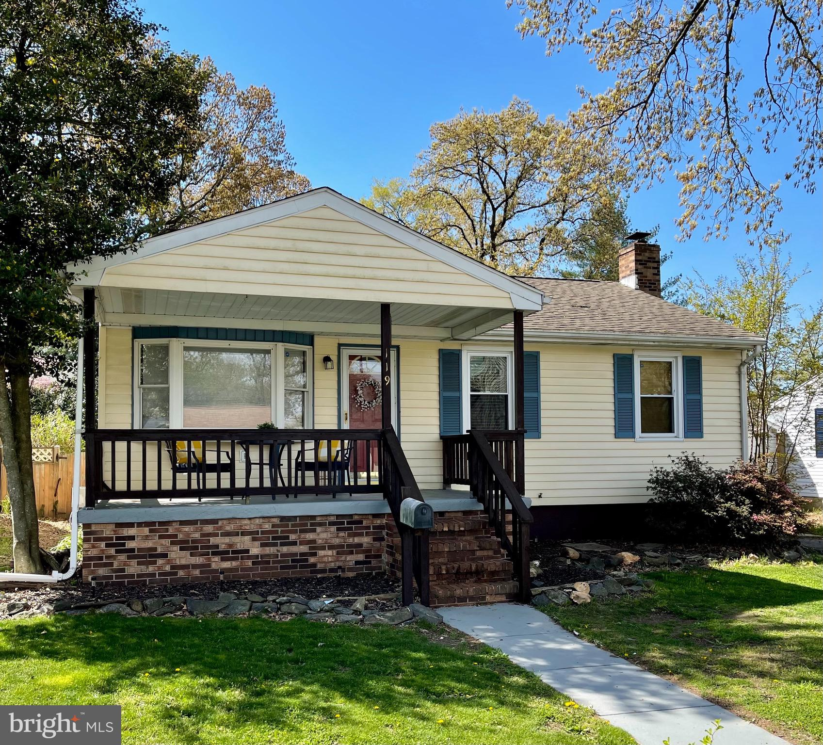 119 W 1ST AVENUE W, GLEN BURNIE, Maryland 21061, 3 Bedrooms Bedrooms, ,1 BathroomBathrooms,Single Family,For Sale,119 W 1ST AVENUE W,MDAA465858