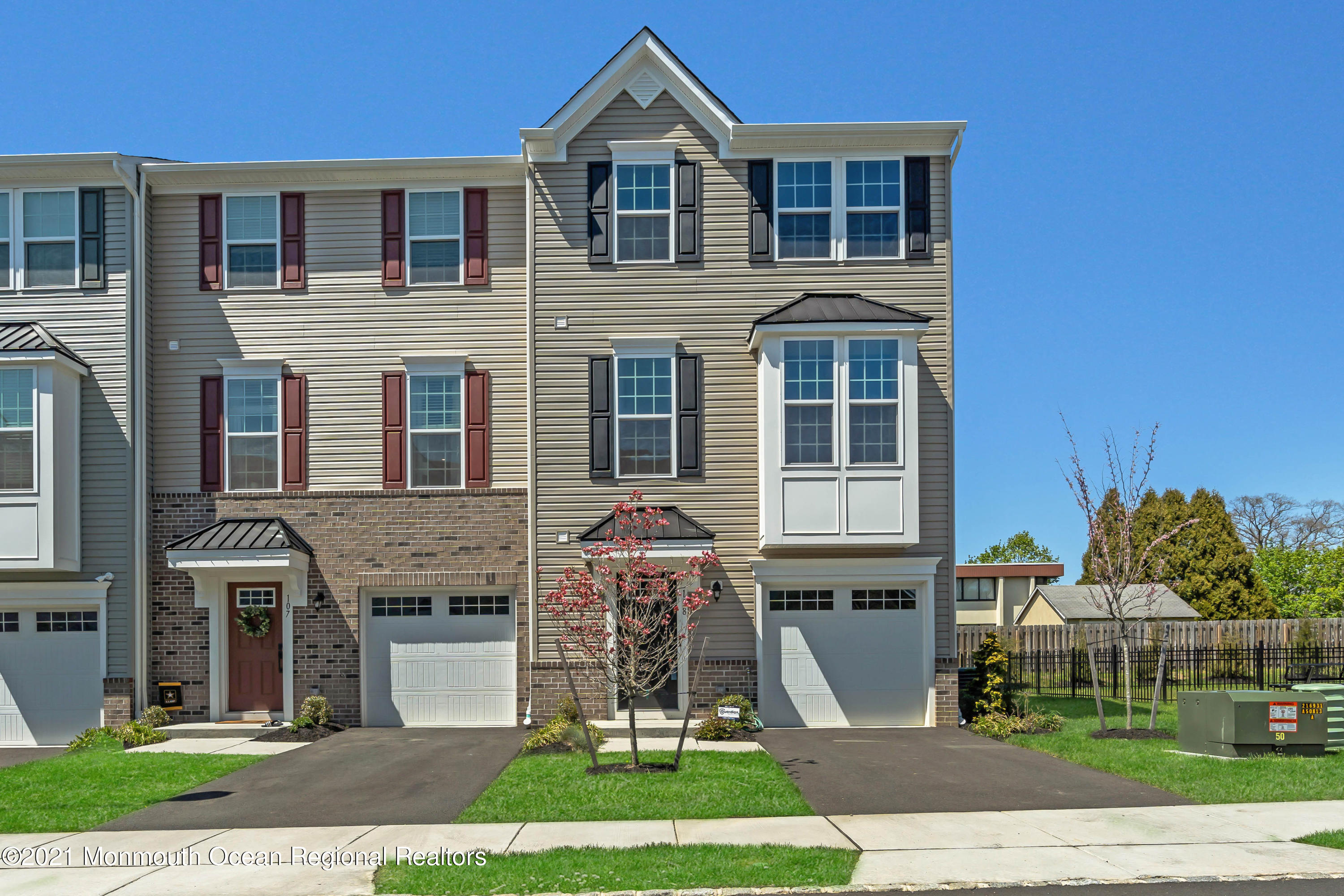108 High Point Lane, Neptune Township, New Jersey 07753, 3 Bedrooms Bedrooms, ,4 BathroomsBathrooms,Townhouse,For Sale,108 High Point Lane,3,22112981