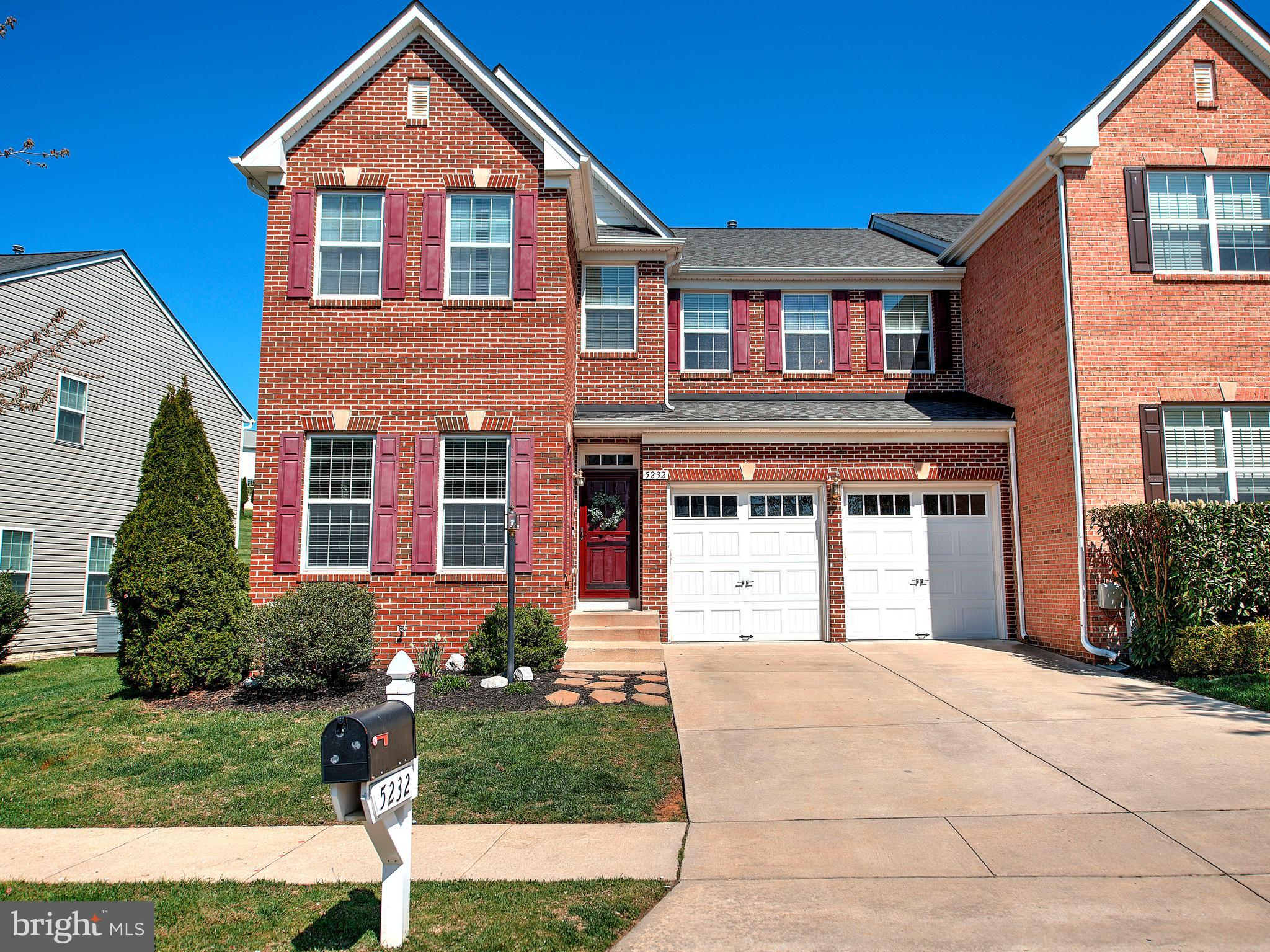 5232 MORNING DOVE WAY, PERRY HALL, Maryland 21128, 4 Bedrooms Bedrooms, ,4 BathroomsBathrooms,Townhouse,For Sale,5232 MORNING DOVE WAY,MDBC525060