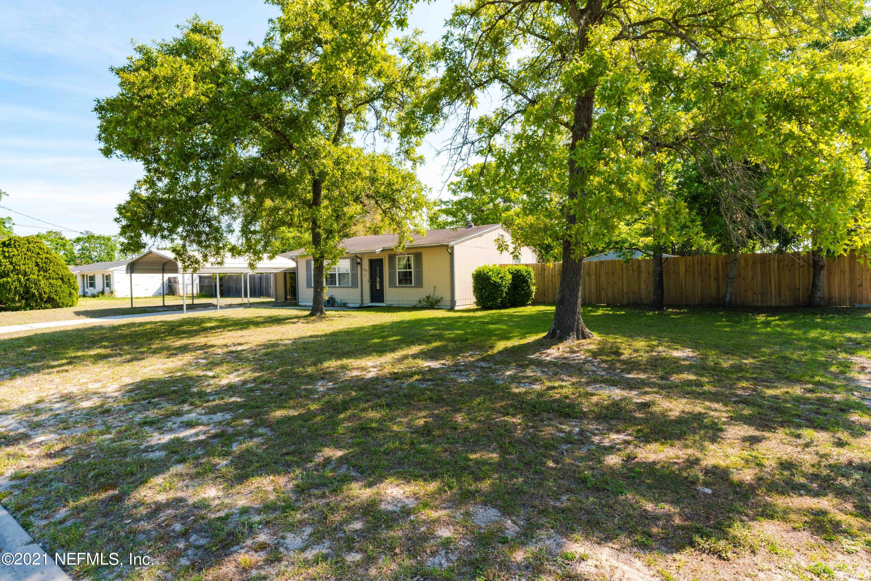 7593 COLLINS CT, JACKSONVILLE, Florida 32244, 2 Bedrooms Bedrooms, ,1 BathroomBathrooms,Single Family,For Sale,7593 COLLINS CT,1104082